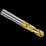 Stub Drills Cobalt TiN